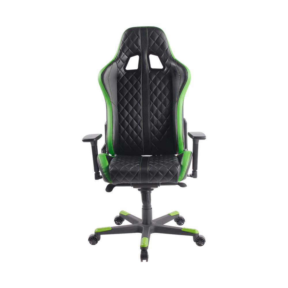 A large main feature product image of BattleBull Crosshair Gaming Chair Black/Green