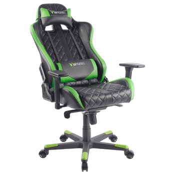 Product image of BattleBull Crosshair Gaming Chair Black/Green - Click for product page of BattleBull Crosshair Gaming Chair Black/Green