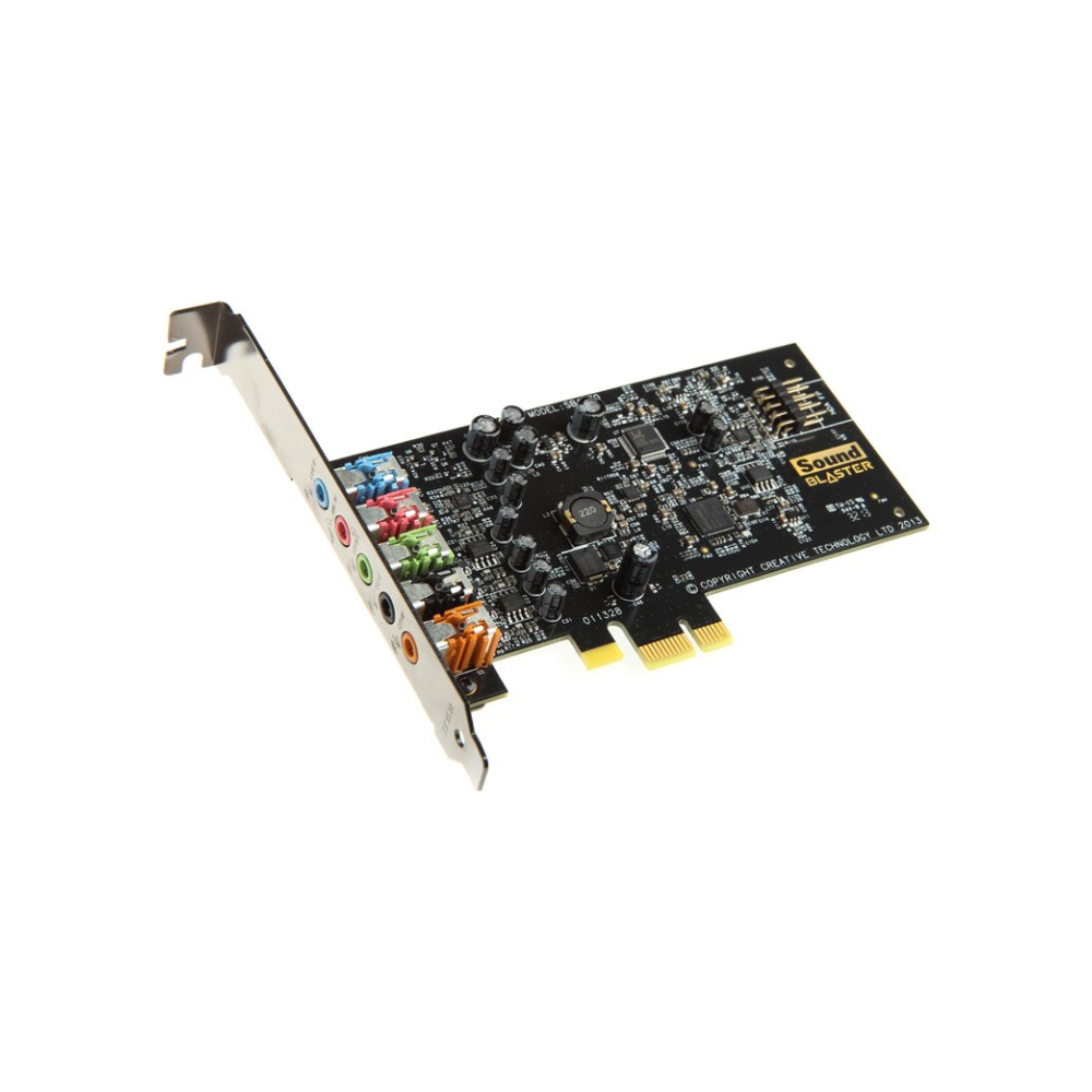 A large main feature product image of Creative Sound Blaster Audigy FX PCIe Sound Card