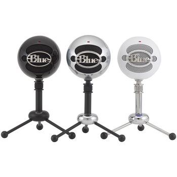 Product image of Blue Microphones Snowball Gloss Black USB Microphone - Click for product page of Blue Microphones Snowball Gloss Black USB Microphone