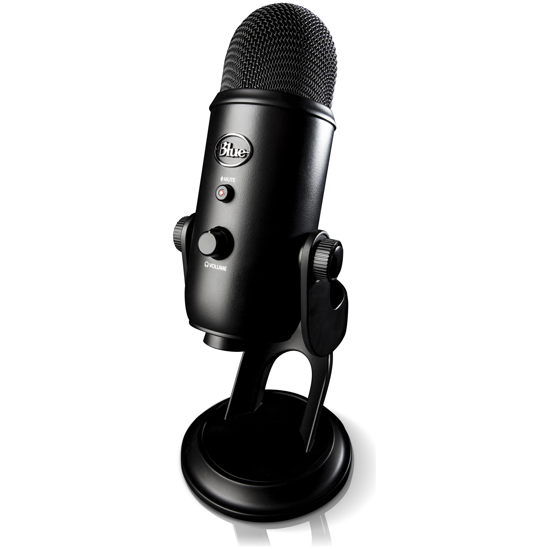 blue microphones yeti 39 blackout 39 usb desktop microphone 2070 ple computers online australia. Black Bedroom Furniture Sets. Home Design Ideas