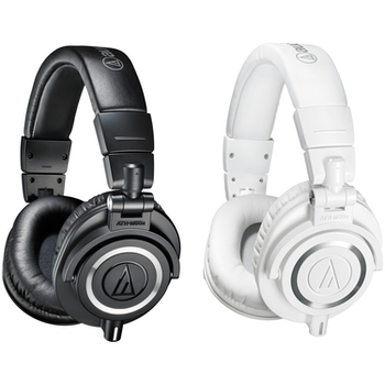 Product image of Audio Technica ATH-M50X Black Studio Headphones - Click for product page of Audio Technica ATH-M50X Black Studio Headphones