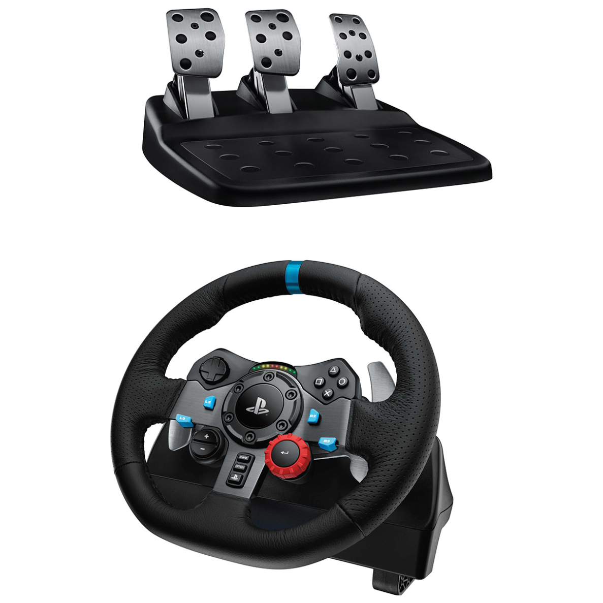 logitech g29 driving force racing wheel for pc and ps4. Black Bedroom Furniture Sets. Home Design Ideas