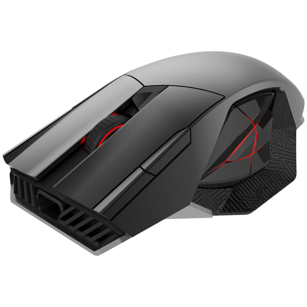 A large main feature product image of ASUS ROG Spatha Wireless Laser Gaming Mouse