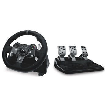 Product image of Logitech G920 Driving Force Racing Wheel for PC and Xbox One - Click for product page of Logitech G920 Driving Force Racing Wheel for PC and Xbox One