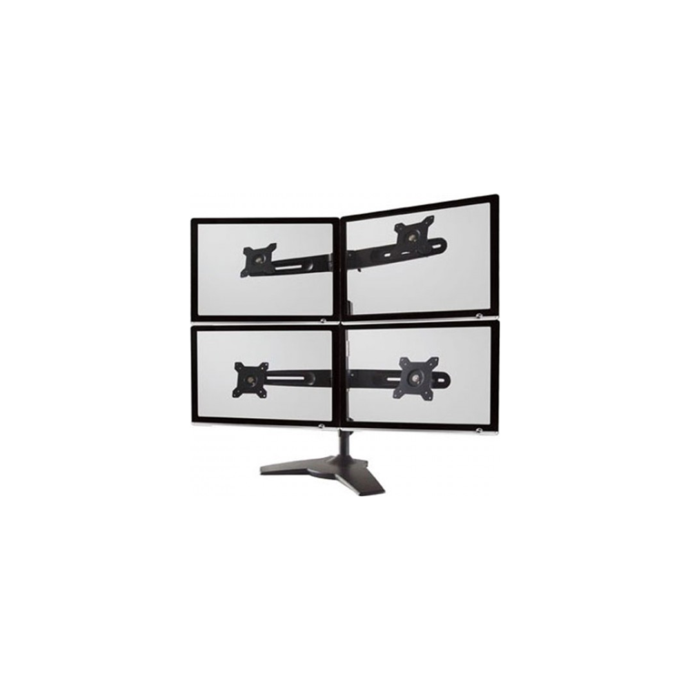 "A large main feature product image of Aavara AV-DS400 Freestanding Quad Monitor Stand (up to 24"")"