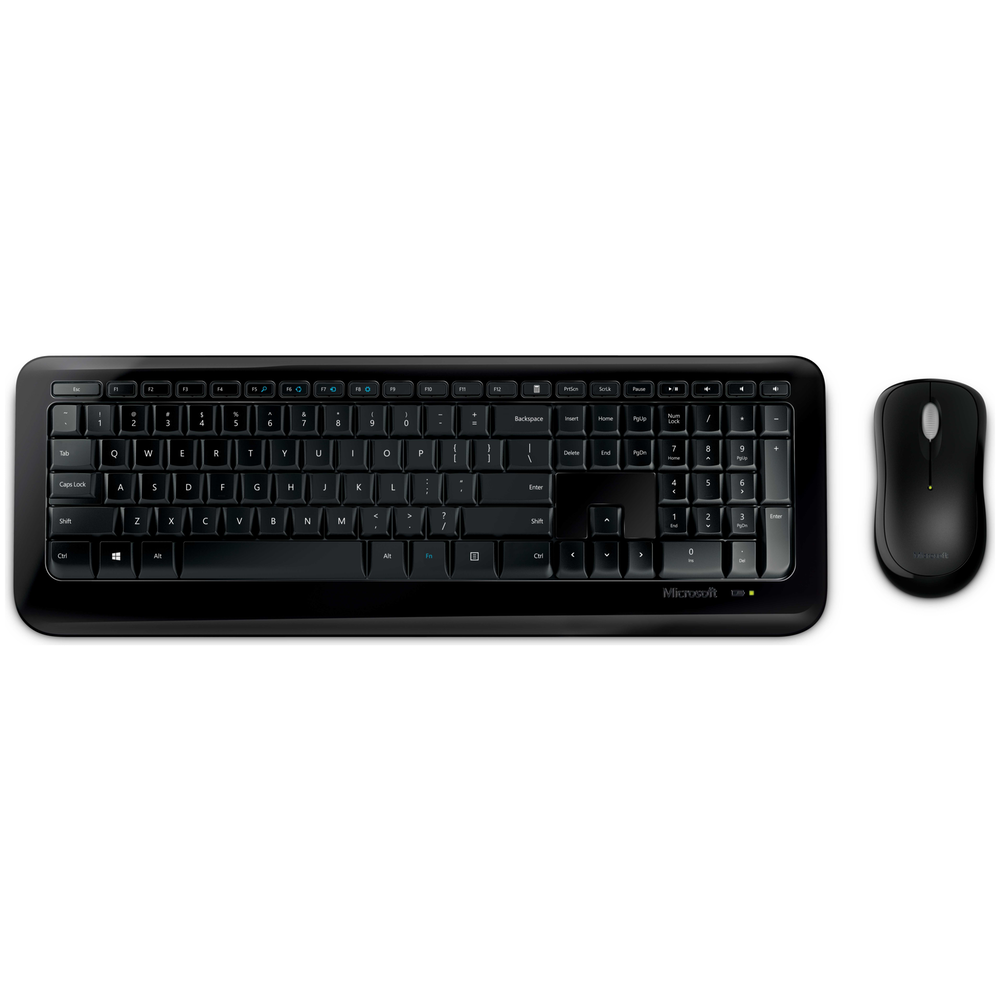 A large main feature product image of Microsoft Wireless Desktop 850