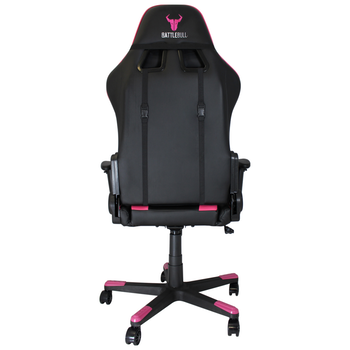 Product image of BattleBull Combat Gaming Chair Black/Pink - Click for product page of BattleBull Combat Gaming Chair Black/Pink