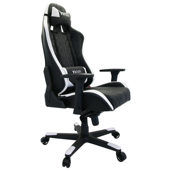 Product image of BattleBull Crosshair Gaming Chair Black/White - Click for product page of BattleBull Crosshair Gaming Chair Black/White