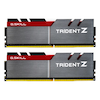A product image of G.Skill 16GB Kit (2x8GB) DDR4 Trident Z 3733MHz C17