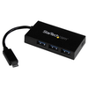 A product image of Startech 4 Port USB Type-C Hub - USB 3.1 Gen 1 Hub with Power Adapter