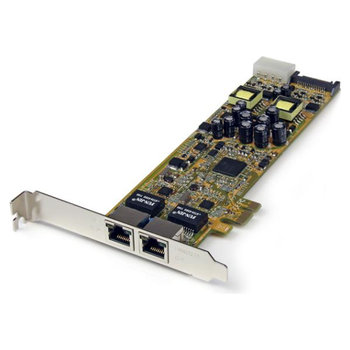 Product image of Startech 2-Port PCI Express Gigabit Server Network Adapter - PCIe PoE NIC - Click for product page of Startech 2-Port PCI Express Gigabit Server Network Adapter - PCIe PoE NIC