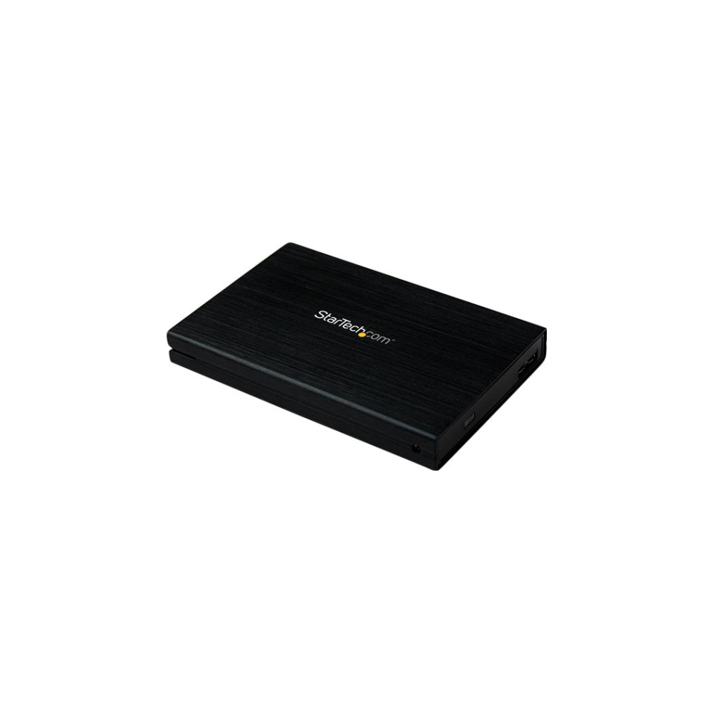 A large main feature product image of Startech 2.5in USB 3.0 External SATA Hard Drive Enclosure w/ UASP - Aluminum