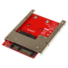 A product image of Startech mSATA SSD to 2.5in SATA Adapter Converter w/ Open Frame