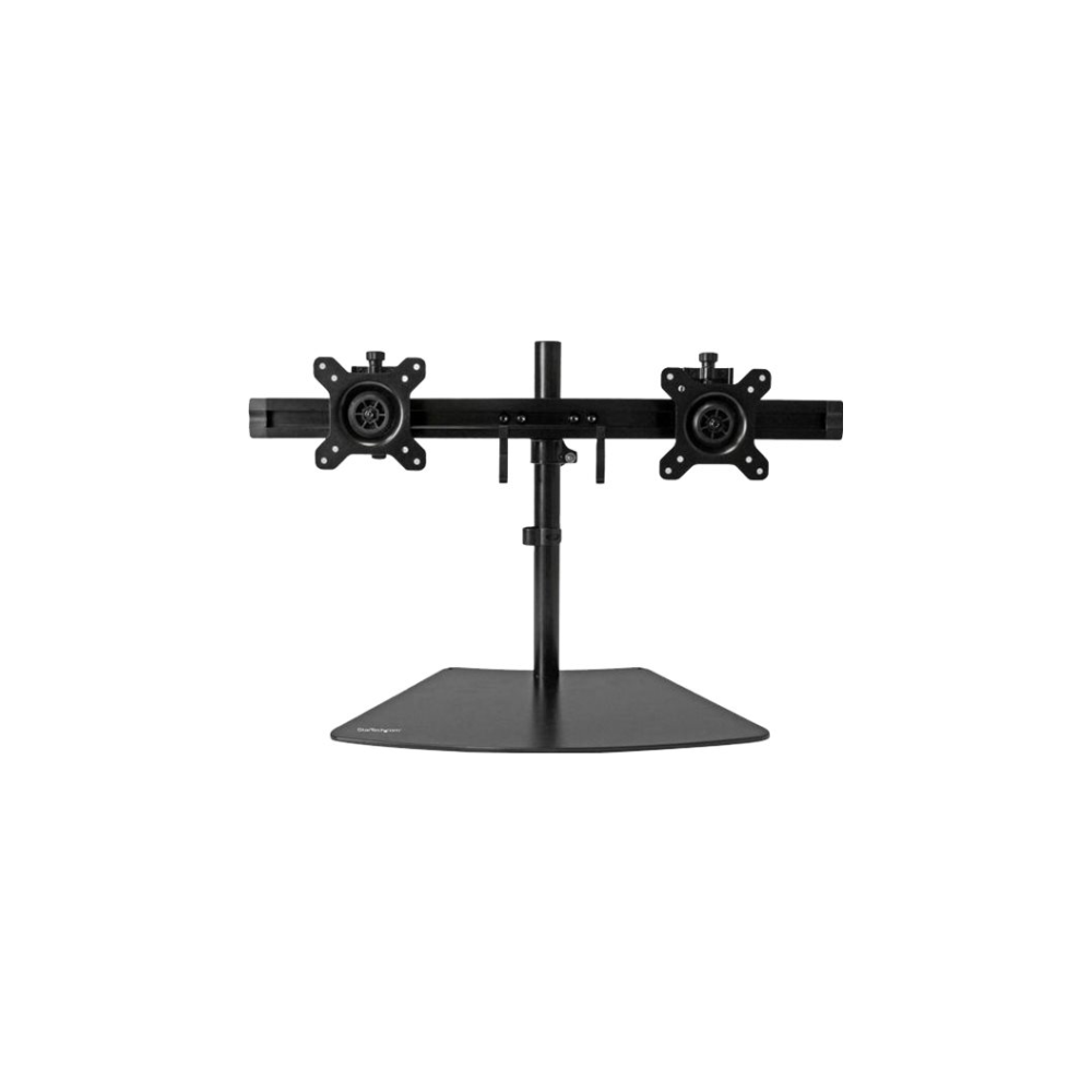 A large main feature product image of Startech Dual Monitor Stand -Supports 2 LCD or LED Monitors up to 24""