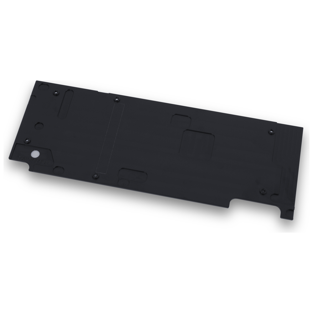 A large main feature product image of EK FC1080 GTX G1 Backplate - Black