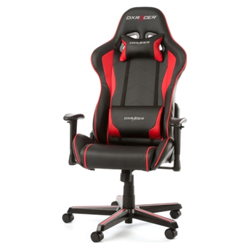 Product image of DXRacer F Series PC Gaming Chair - Black & Red w/ Lumbar Support - Click for product page of DXRacer F Series PC Gaming Chair - Black & Red w/ Lumbar Support