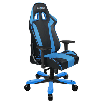 Product image of DXRacer KS06 Series PC Gaming Chair - Black & Blue w/ Lumbar Support - Click for product page of DXRacer KS06 Series PC Gaming Chair - Black & Blue w/ Lumbar Support