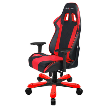 Product image of DXRacer KS06 Series PC Gaming Chair - Black & Red w/ Lumbar Support - Click for product page of DXRacer KS06 Series PC Gaming Chair - Black & Red w/ Lumbar Support