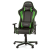 A product image of DXRacer F Series PC Gaming Chair - Black & Green w/ Lumbar Support