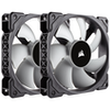 A product image of Corsair ML120 120mm Mag-Lev Cooling Fan Twin Pack