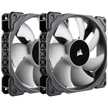 Product image of Corsair ML120 120mm Mag-Lev Cooling Fan Twin Pack - Click for product page of Corsair ML120 120mm Mag-Lev Cooling Fan Twin Pack