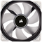 A small tile product image of Corsair ML120 Pro 120mm Mag-Lev White LED Cooling Fan