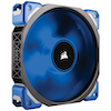 A product image of Corsair ML120 Pro 120mm Mag-Lev Blue LED Cooling Fan