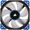 A small tile product image of Corsair ML120 Pro 120mm Mag-Lev Blue LED Cooling Fan