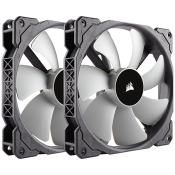 Product image of Corsair ML140 140mm Mag-Lev Cooling Fan Twin Pack - Click for product page of Corsair ML140 140mm Mag-Lev Cooling Fan Twin Pack