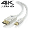 A product image of ALOGIC Mini DisplayPort to DisplayPort MM Cable 3m White