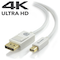 A small tile product image of ALOGIC Mini DisplayPort to DisplayPort MM Cable 3m White