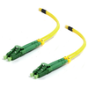 A product image of ALOGIC 0.5m LCALCA Single Mode Duplex LSZH Fibre Cable 09/125 OS2