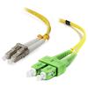 A product image of ALOGIC 1m SCALC Single Mode Duplex LSZH Fibre Cable 09/125 OS2