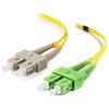 A product image of ALOGIC 5m SCASC Single Mode Duplex LSZH Fibre Cable 09/125 OS2