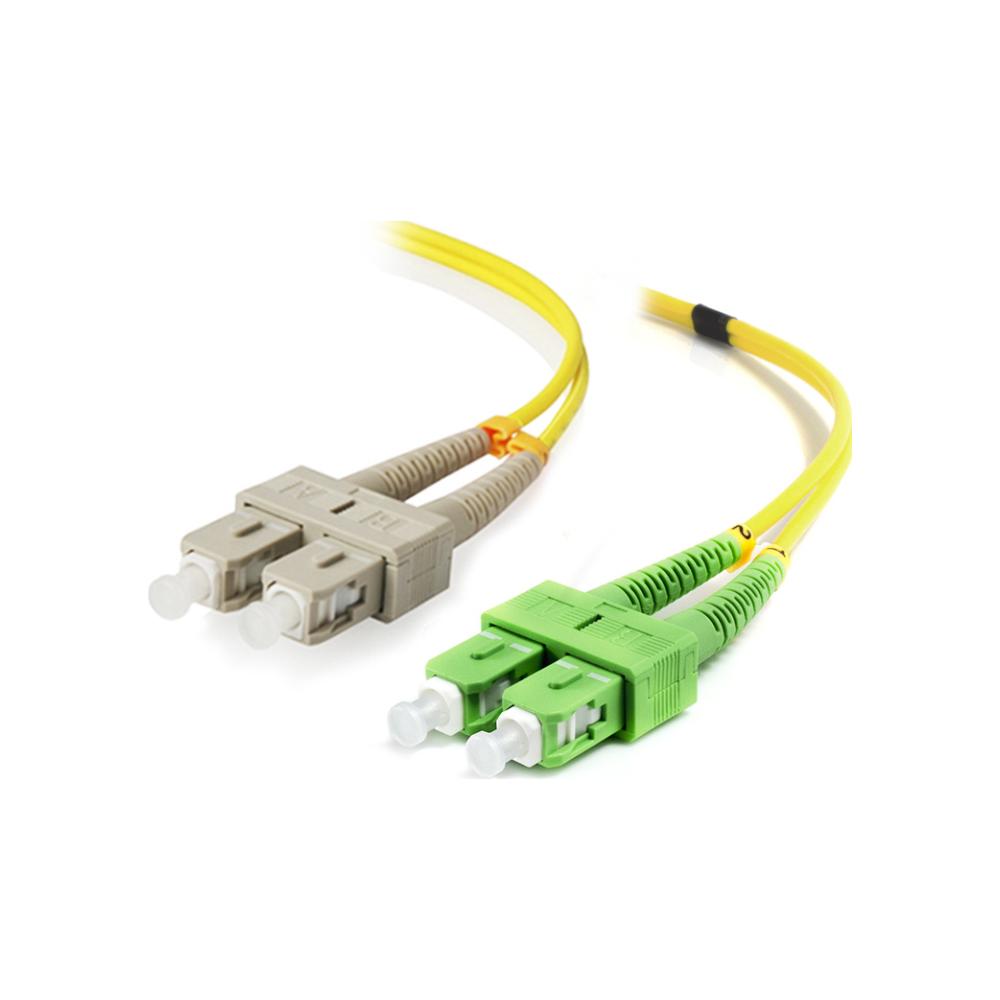 A large main feature product image of ALOGIC 5m SCASC Single Mode Duplex LSZH Fibre Cable 09/125 OS2