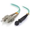 A product image of ALOGIC 10m MTRJSC 10G Multimode Duplex LSZH Fibre Cable 50/125 OM3
