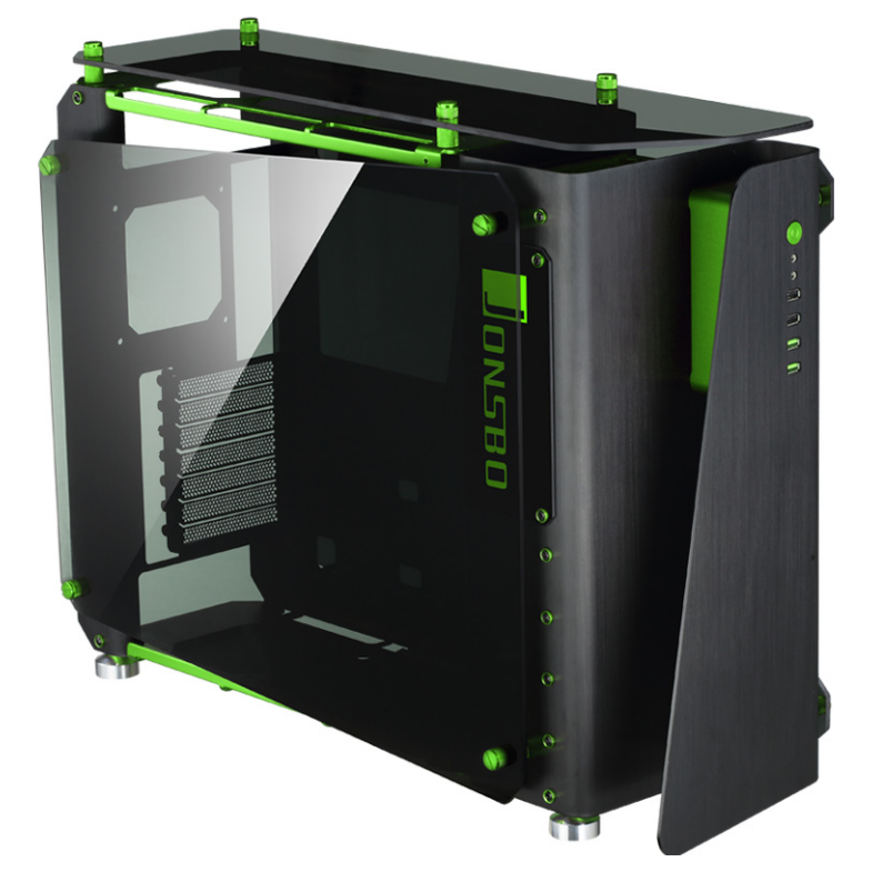 mod1 case The jonsbo mod1 case is as striking as it is innovative and features a full aluminium open chassis design with top and side tempered glass panels jonsbo conducted a customer survey for the development of the mod1, especially watercooling enthusiasts and as a result the mod1 was developed.