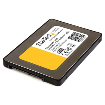 """Product image of Startech CFast memory card to 2.5"""" SATA adapter (up to 6 Gbps) - Click for product page of Startech CFast memory card to 2.5"""" SATA adapter (up to 6 Gbps)"""