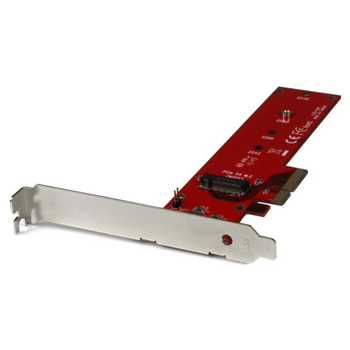 Product image of Startech x4 PCIe to M.2 PCIe SSD Adapter for M.2 NGFF SSD (NVMe/AHCI) - Click for product page of Startech x4 PCIe to M.2 PCIe SSD Adapter for M.2 NGFF SSD (NVMe/AHCI)