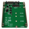A product image of Startech M.2 SSD to 2.5in SATA Adapter - NGFF SSD to SATA Converter