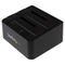 A small tile product image of Startech 2-bay USB 3.1 SATA dock with UASP - Tool-free & trayless