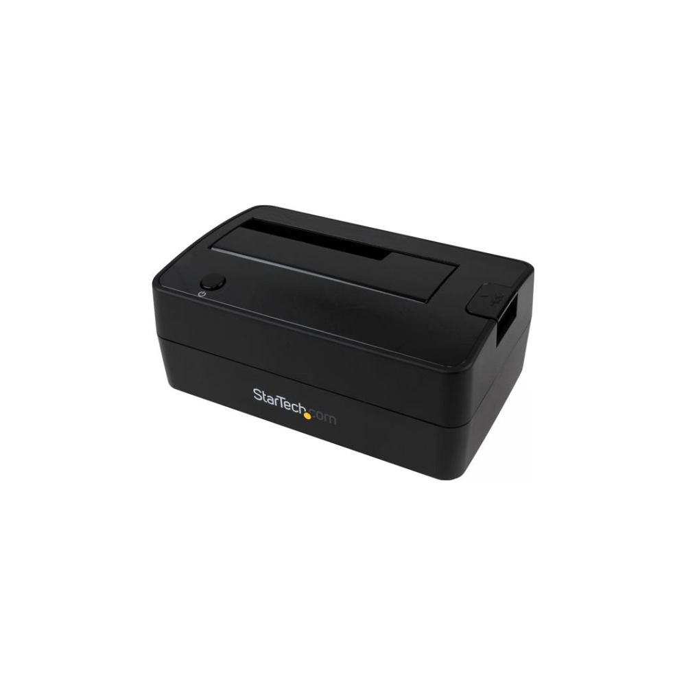 A large main feature product image of Startech 1-Bay USB 3.1 Gen 2 SATA dock w/ UASP - Tool-free & trayless