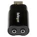 Startech ICUSBAUDIOB USB Audio Adapter External Sound Card