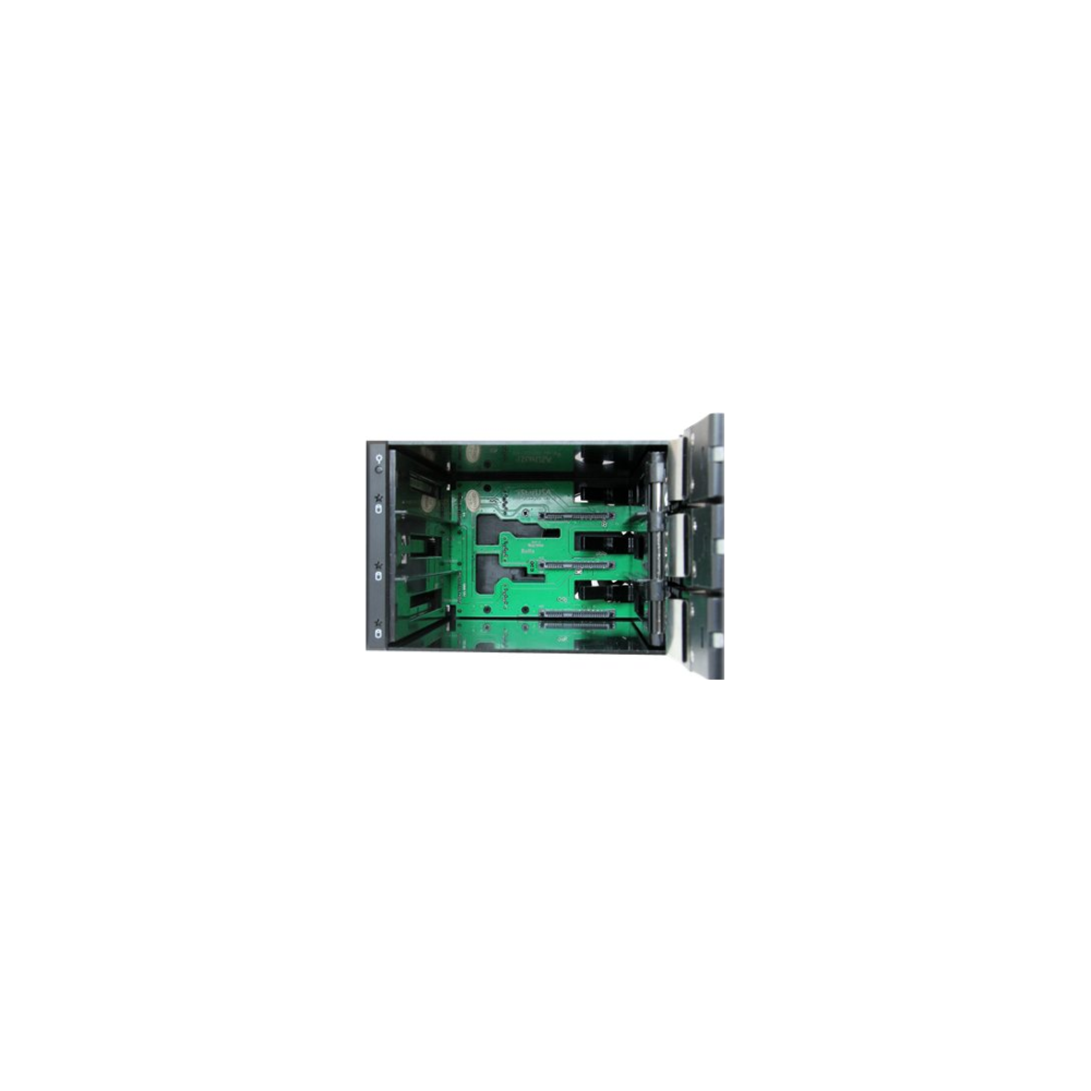 "A large main feature product image of Startech 3 Bay 3.5"" SATA/SAS HDD Trayless Mobile Rack Backplane w/Fan"