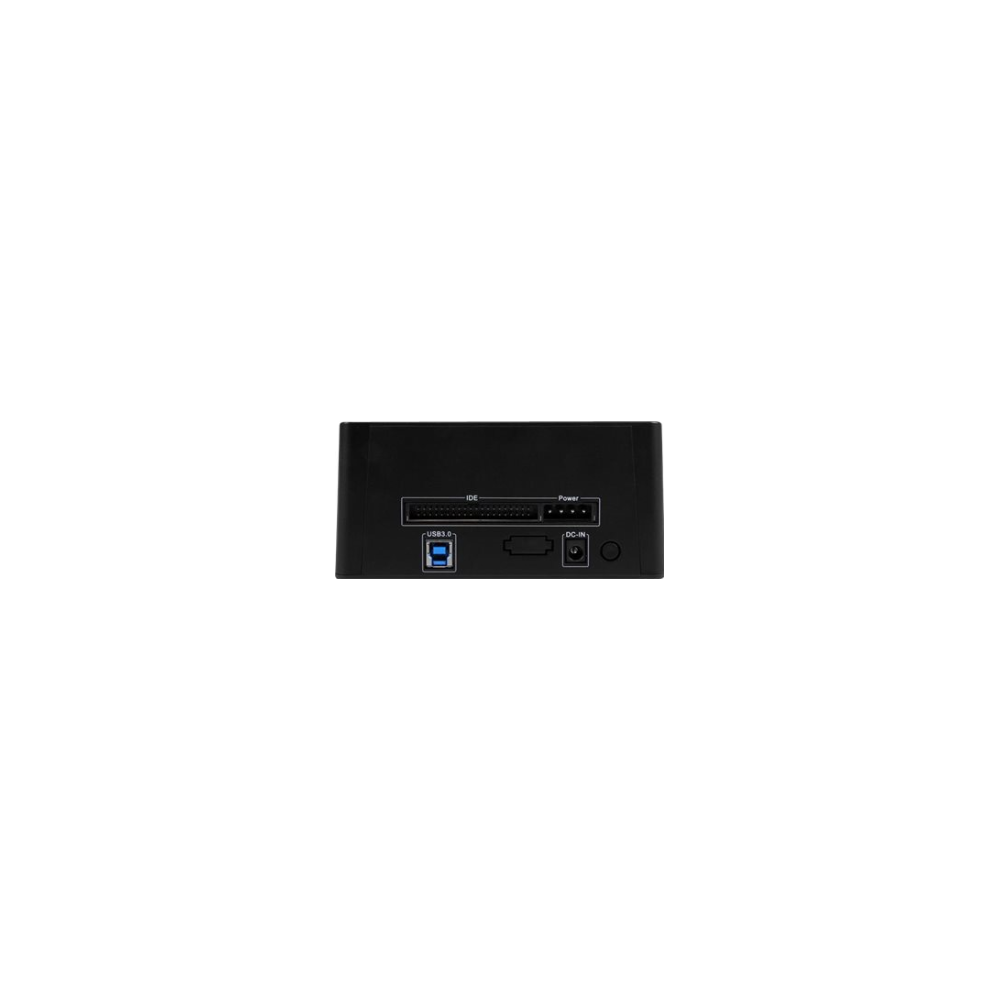 A large main feature product image of Startech USB3.0 universal HDD Dock - 2.5/3.5in SATA & IDE - UASP