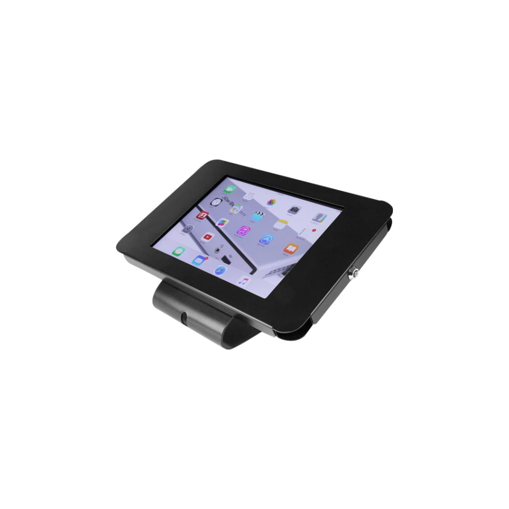 A large main feature product image of Startech Secure Tablet Holder for iPad - Lockable - Desk/Wall Mount