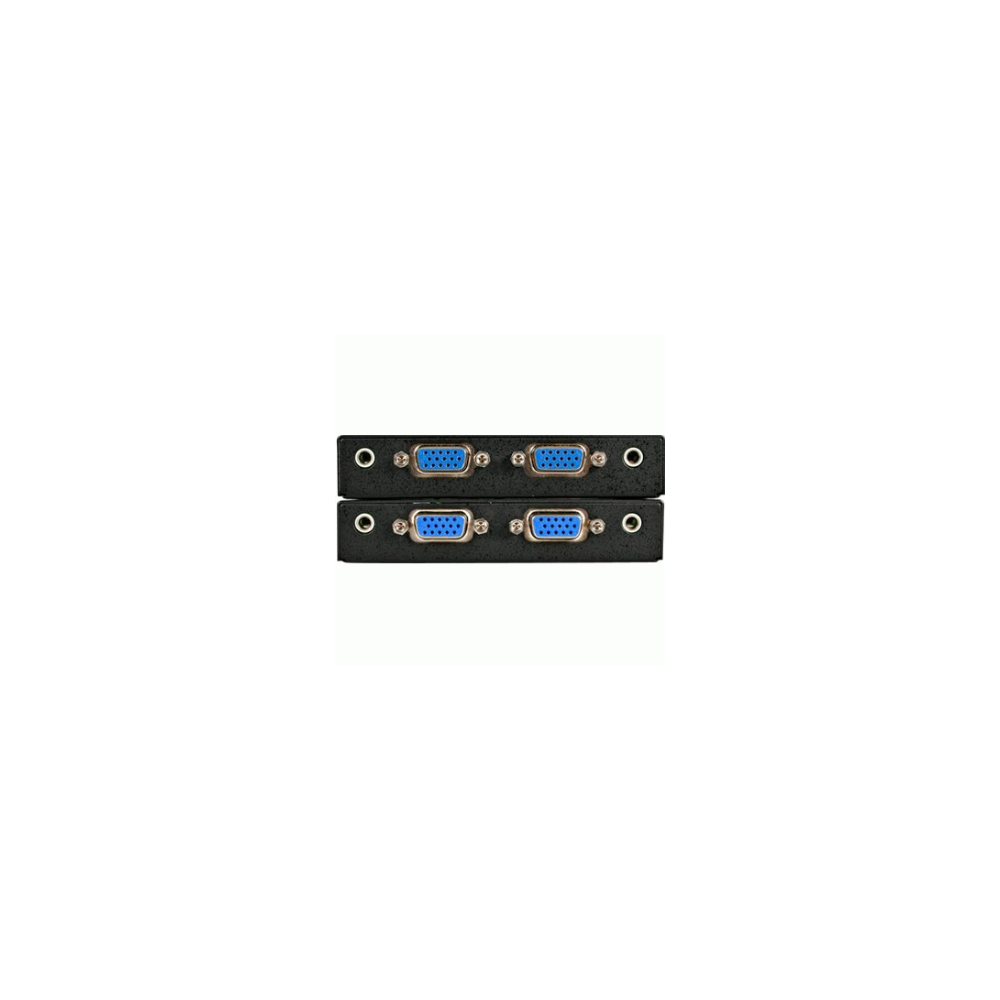 A large main feature product image of Startech VGA over Ethernet Video Extender with Audio