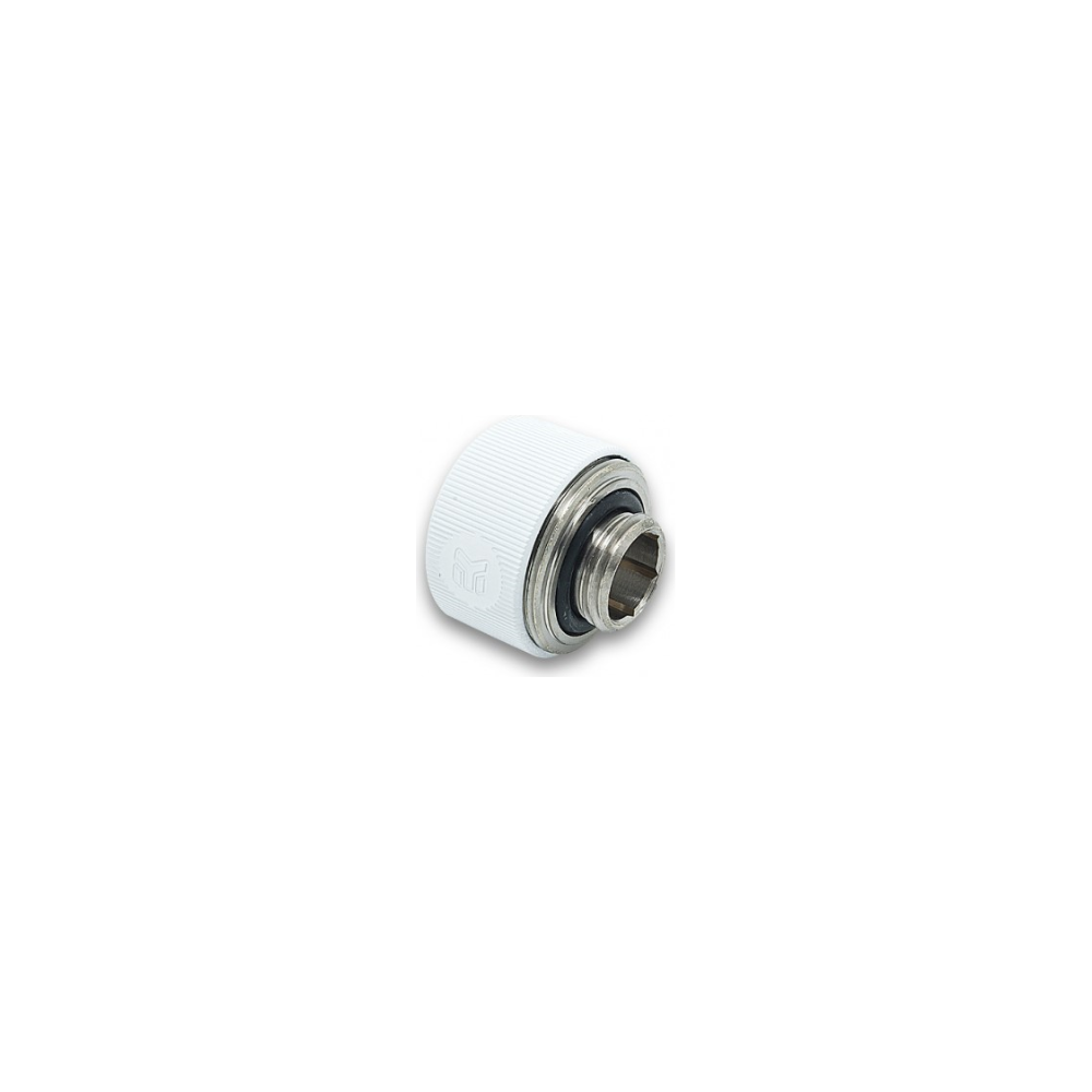 A large main feature product image of EK G1/4 16mm White HDC Fittings