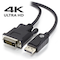 A small tile product image of ALOGIC Elements ACTIVE 1m DisplayPort to DVI-D Cable with 4K Support - Male to Male